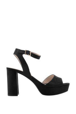 Velours Fashion Sandalette