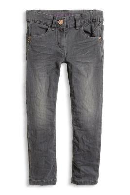 Stretch-Jeans mit grauer Waschung