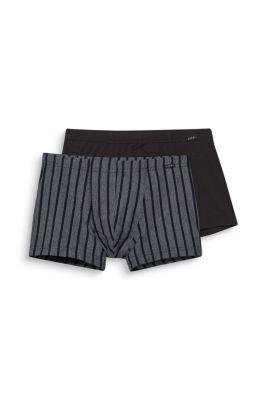 Baumwoll-Stretch-Shorts im Doppelpack