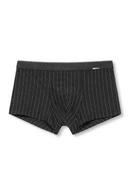 Stretchige Shorts mit Nadelstreifen
