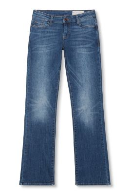 Stretchige 5-Pocket-Bootcut-Jeans