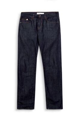 Non-Stretch Jeans mit dunkler Waschung