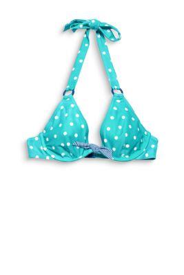 Unwattiertes Neckholder-Bikini-Top