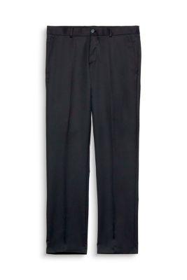 Anzughose mit Stretch und  feiner Struktur