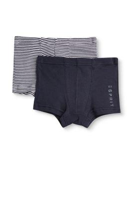 Shorts im Doppelpack, 100% Baumwolle