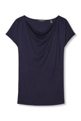 Fließendes Jersey Shirt