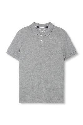 Basic Pique Polo, 100% Baumwolle