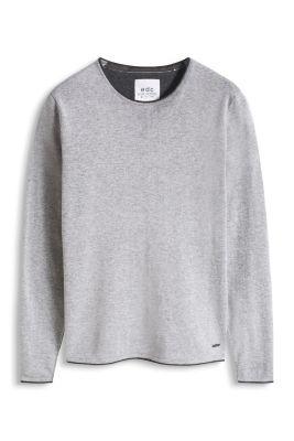 Esprit / Meleret pullover, 100% bomuld