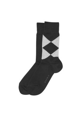 Esprit / 2 pairs of socks, one patterned, one plain