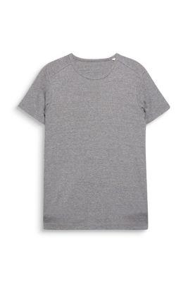 Esprit / Basic ribbed T-shirt, 100% cotton