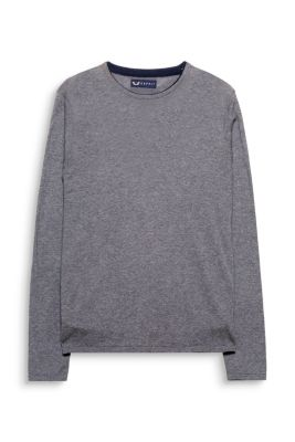 Esprit / Basic-pullover i 100% australsk bomuld