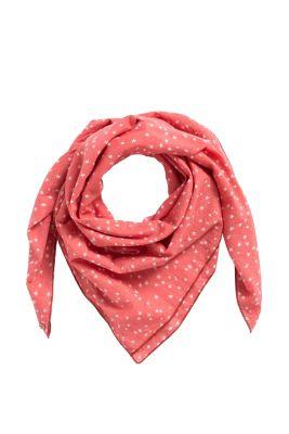 Esprit / Print-Schal aus 100% Baumwolle