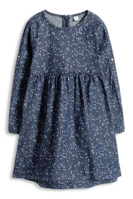 Esprit / Stretch dotted denim dress