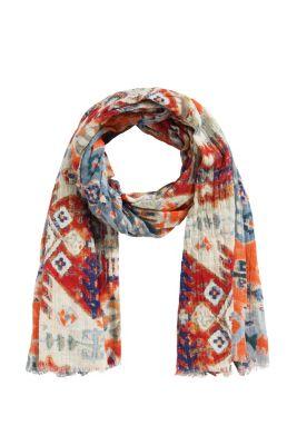 Esprit / Schal aus Baumwollgewebe