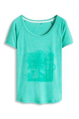 Esprit / Fließendes Sport T-Shirt mit Print