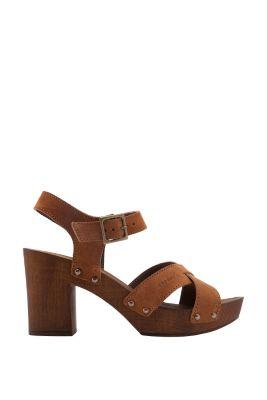 Esprit / leather clogs
