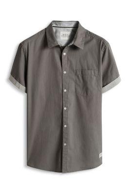 Esprit / Kurzarm-Hemd, 100% Baumwolle