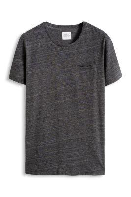 Esprit / Meliertes Jersey Shirt, Baumwoll-Mix
