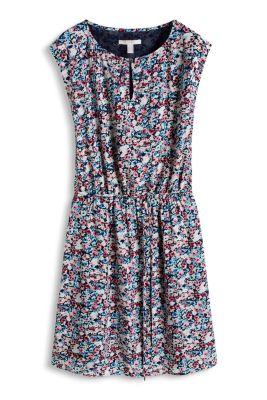 Esprit / Fließendes Print-Kleid im Blümchen-Look