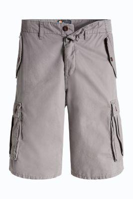 Esprit / Cargo-Bermuda, 100% Baumwolle