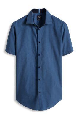 Esprit / Hemd mit Allover-Print, 100% Baumwolle