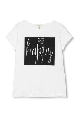Esprit / T-shirt i 100% bomuld
