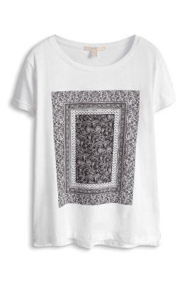 Esprit / Bomulds-T-shirt med artwork