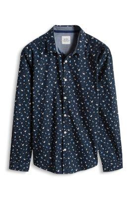Esprit / Hemd mit Print, 100% Baumwolle