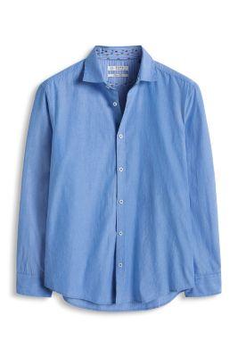 Esprit / Baumwollhemd mit und ohne Streifen