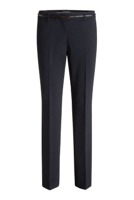 Esprit / Business-Hose mit Gürtel