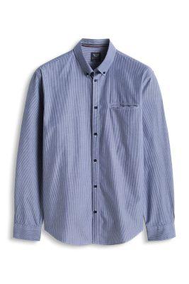 Esprit / Hemd mit Streifen, 100% Baumwolle