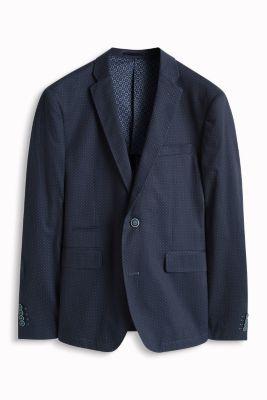 Esprit / Blazer mit Punkten, 100% Baumwolle