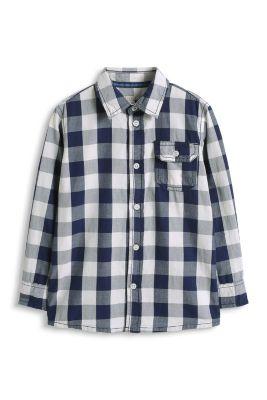 Esprit / Basic Karohemd aus Baumwolle