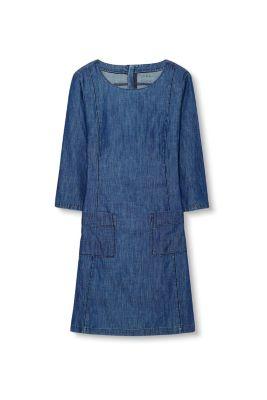Esprit / Jeanskleid aus Baumwolle/Lyocell