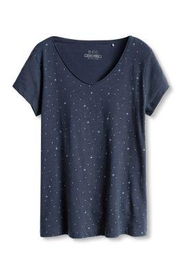 Esprit / Print T-Shirt aus 100% Baumwolle