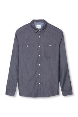Esprit / Gestreiftes Hemd, 100% Baumwolle