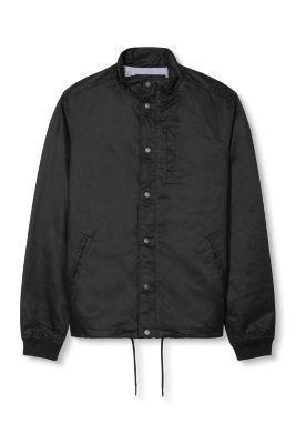 Esprit / Leichte Jacke aus Baumwoll-Mix