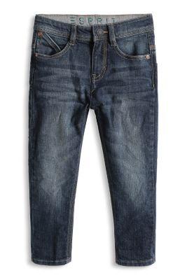Esprit / Stretch-Jeans mit variabler Bundweite
