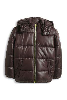 Esprit / Basic Thermojacke mit Fleece-Futter