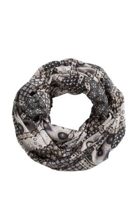 Esprit / Loop-Schal im Patchwork-Stil