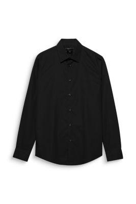 Esprit / Bügelleichtes Hemd, 100% Baumwolle