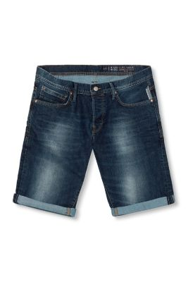 Esprit / Denim-Bermuda im 5-Pocket-Stil