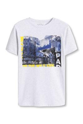 Esprit / Photo print cotton blend t-shirt