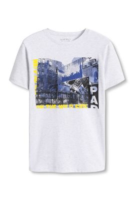 Esprit / Fotoprint T-Shirt aus Baumwoll-Mix
