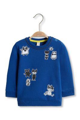 Esprit / Monster Sweatshirt aus Baumwoll-Mix