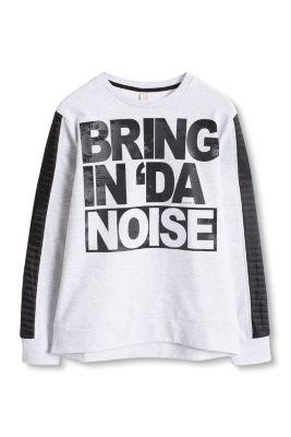 Esprit / Baumwoll-Mix Sweatshirt mit fettem Print